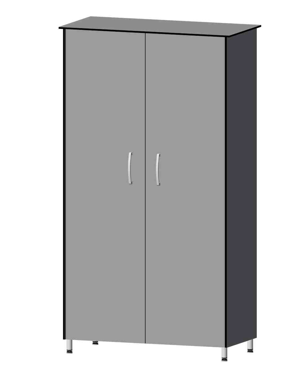 Hochschrank mit 2 Türen