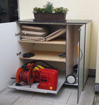 Sideboard wasserdicht, verschließbar – Fußversion