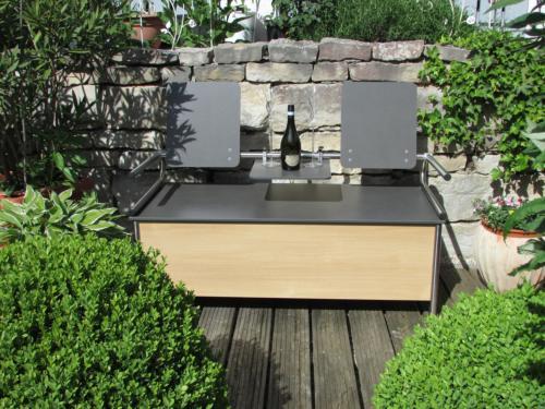 Neu Bänke nach Maß | ReGe - Outdoormöbel und Gartenmöbel IS17