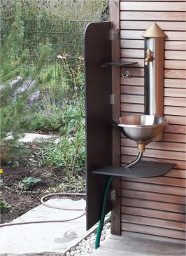 Sichtschutz für Waschbecken