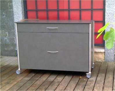 Sideboard Javagrau Mit Schubladen Rege Outdoormobel Und Gartenmobel