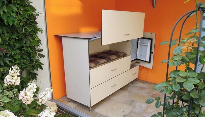 ReGe Wintergartenschrank mit Minibar