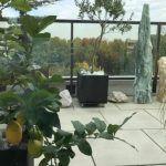 Pflanzenständer mit Edelstahlfüssen