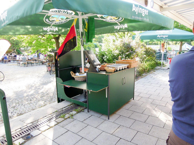 ReGe Kassenstation Biergarten