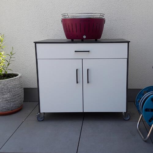 HPL Sideboard für die Terrasse
